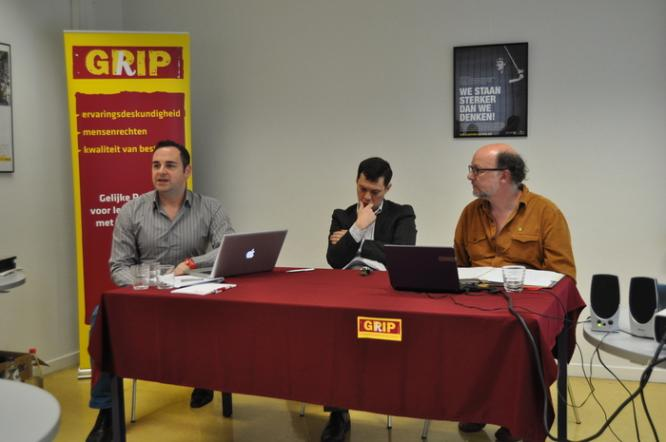 MDAC and our Flemish partners GRIP launch the collective complaint, Brussels. (c) MDAC