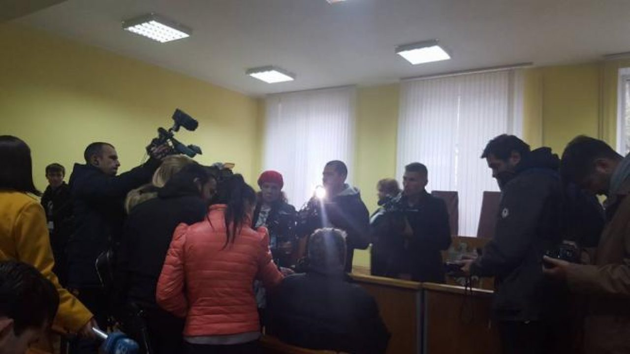 Bălți first instance criminal court today shortly after judgment. Photo: #ViolulDistruge