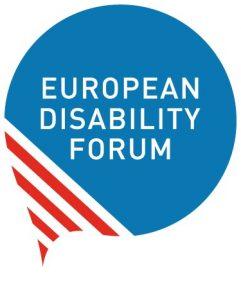 European Disability Forum logo