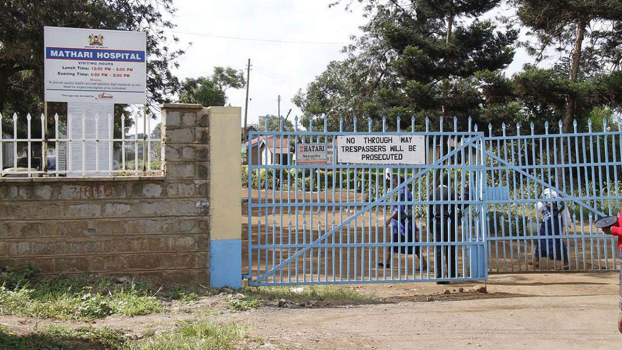 Mathare Hospital, Kenya