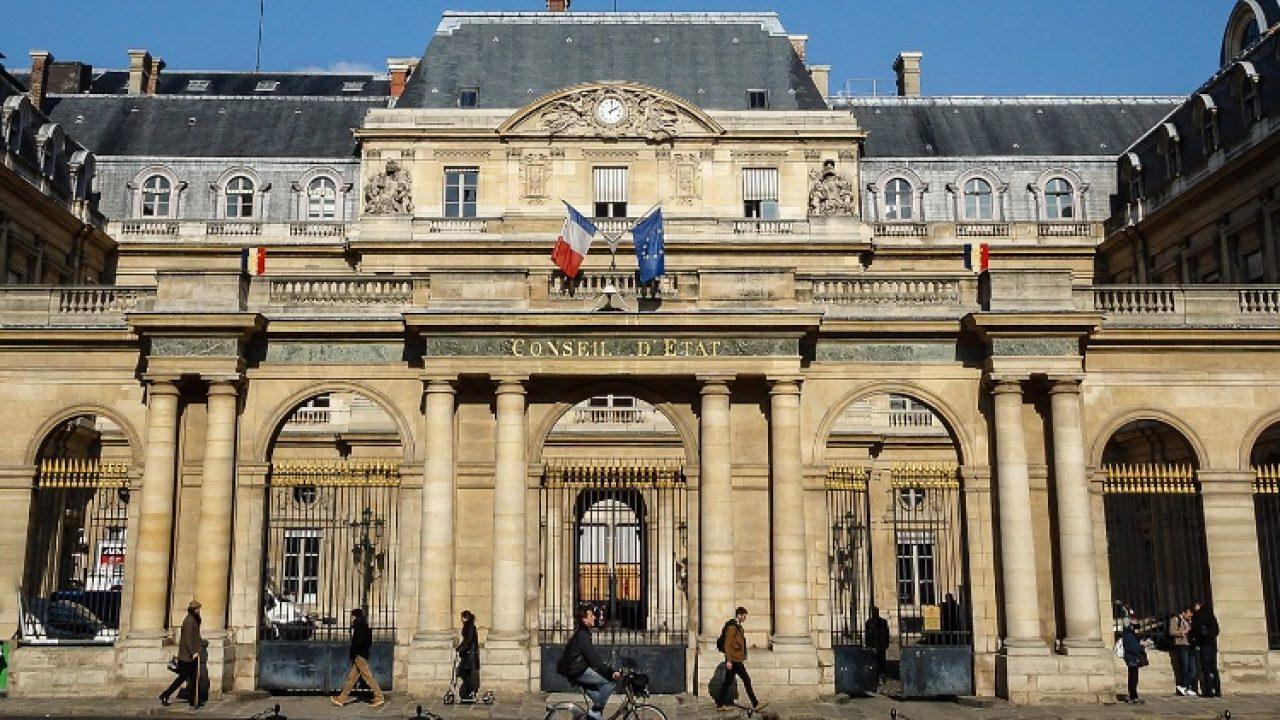 Photo of the Conseil d'Etat, Paris