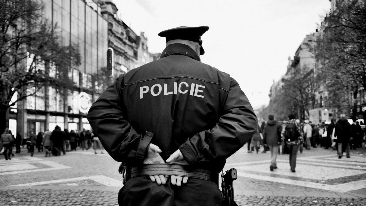 Policeman by Konstantin Tilberg