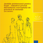 Cover page of Report of Romania in Romanian