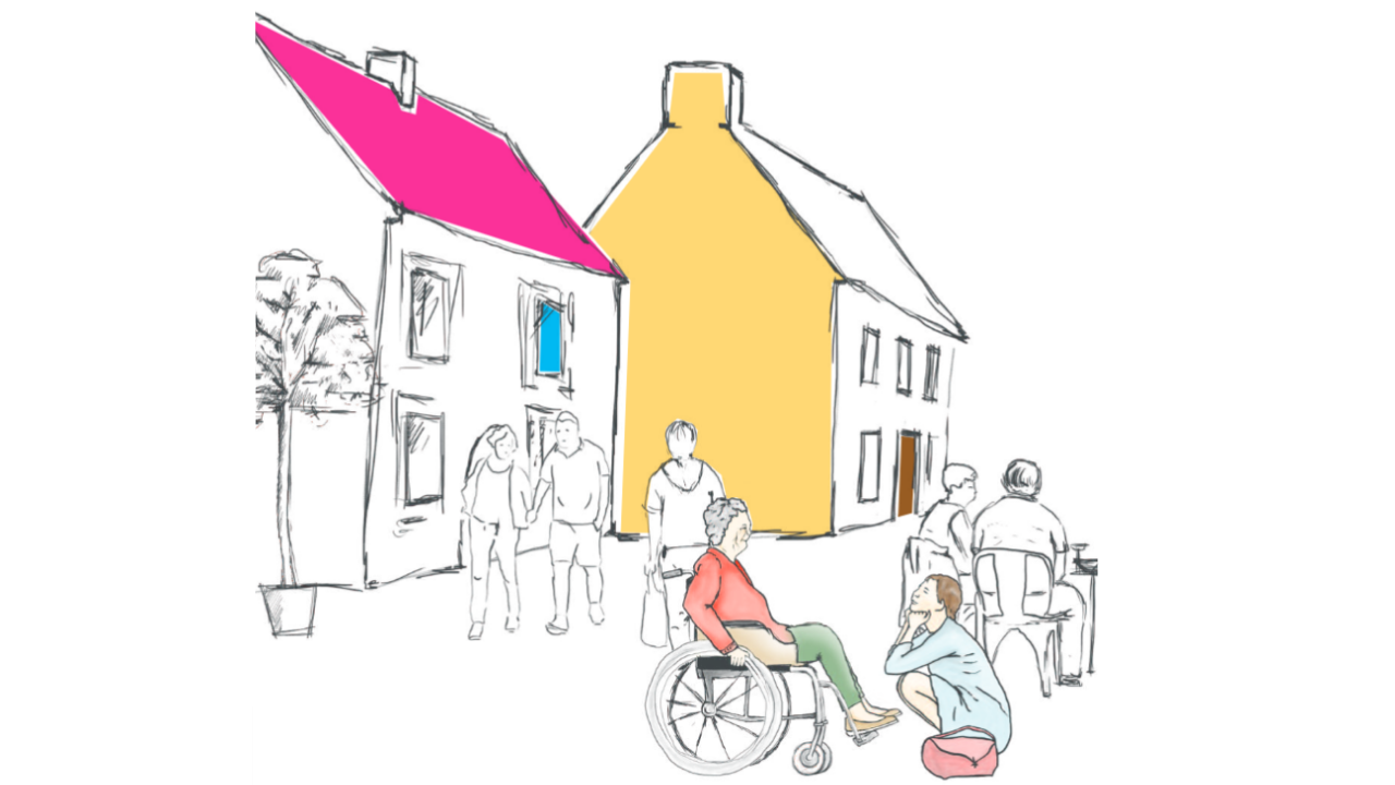 Cover page image of the report called Insititutionalization, Disability and Ageing in the Czech Republic